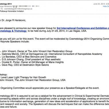 The OMICS group strikes again