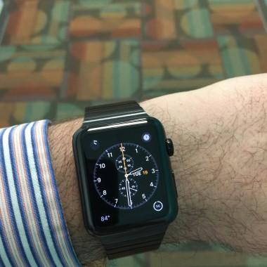 It's a watch.